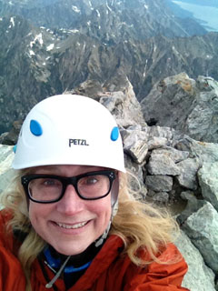 Betsy Quammen on Grand Teton.